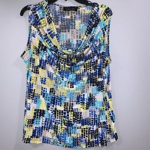 3/$15 Colorful Spring Sleeveless Blouse